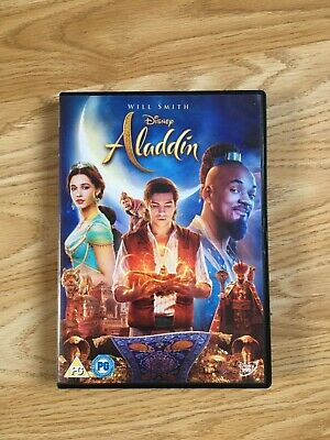 Aladdin dvd (will smith) like new only watched once