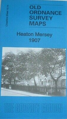 Old Ordnance Survey Maps Heaton Mersey Cheshire 1907 Godfrey Editon Offer