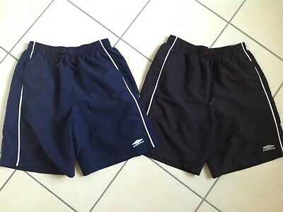 Two Pairs Of Mens Umbro Shorts / Trunks Size L