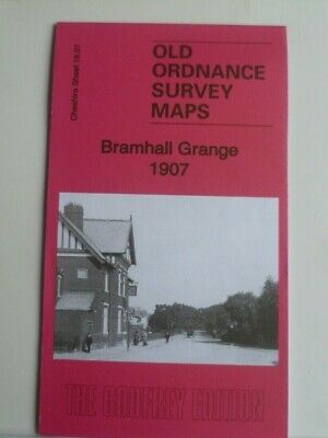 Old Ordnance Survey Maps Bramhall Grange  Cheshire 1907 Godfrey Editon Offer