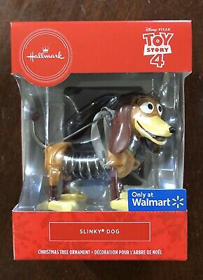 Hallmark 2019 SLINKY DOG Toy Story 4 - Christmas Tree Ornament Walmart Exclusive
