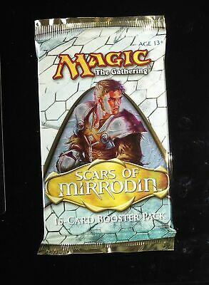 4 Scars of Mirrodin -  Sealed Pack Mtg Magic from booster box English Rare 4x x4