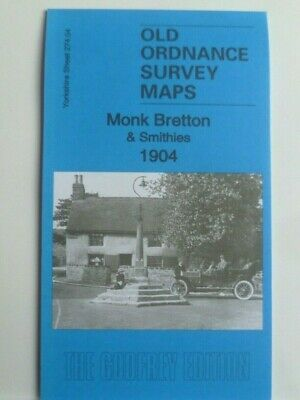 Old Ordnance Survey Maps Monk Bretton & Smithies Yorkshire 1904 Special Offer