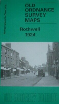 Old Ordnance Survey Maps Rothwell 1924 Northamptonshire Godfrey Edition Offer