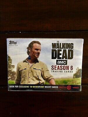 Topps The Walking Dead Season 6 Factory Sealed Trading Cards Target Exclusive