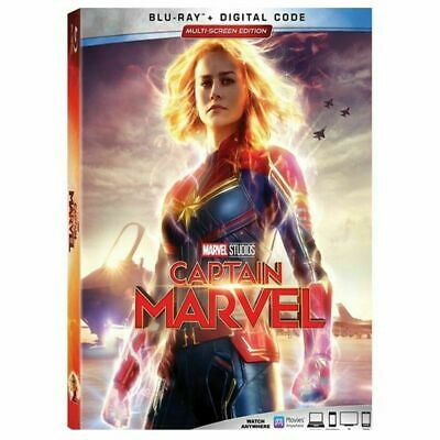 Captain Marvel [Blu-ray] [2019] [Region Free], , DVD, FREE & FAST Delivery