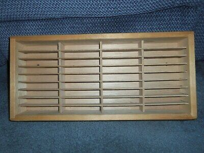 Napa Valley Box Co Wooden Wall Mount 36 Cassette Tape Storage Rack Case Holder