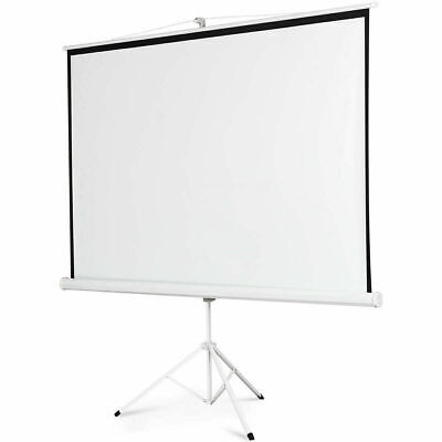 """100"""" 16:9 Projector Screen Portable Indoor Outdoor Projection with Stand Tripod"""