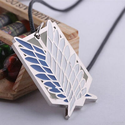 NEW Attack on Titan Wings of Freedom Pendant Necklace Cosplay Anime Gift