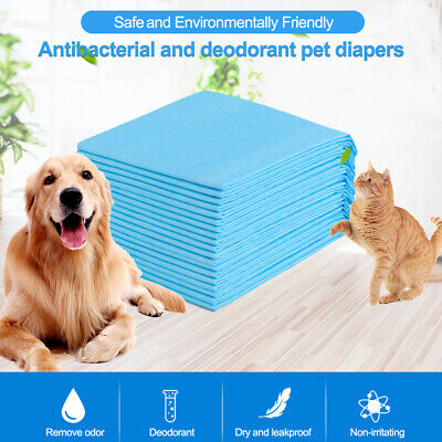 Pet Puppy Training Pee Pad For Dog Disposable Absorbent Odor Reducing Mats M1E2