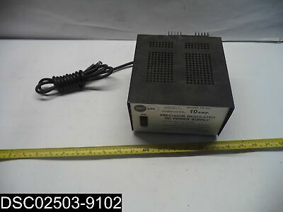 USED: Power Cord Damaged TrippLite PR10b DC Power Supply Precision Regulated