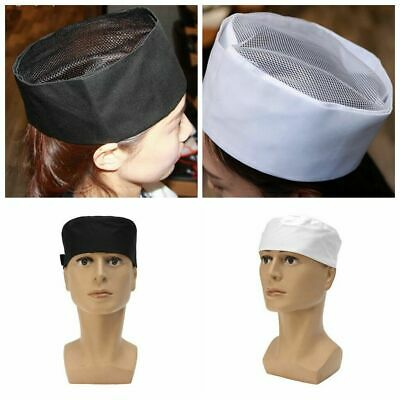 Professional Chefs Mesh Top Skull Cap Cook Kitchen Restaurant Chef Catering Hat