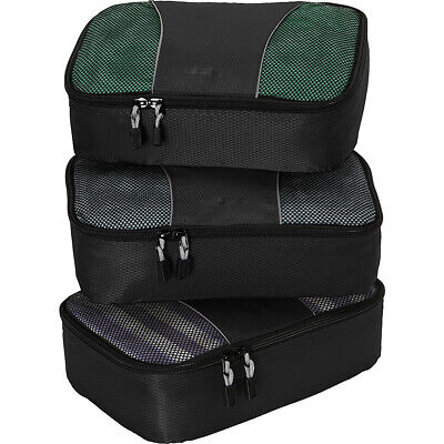 eBags Small Classic Packing Cubes - 3pc Set 7 Colors Travel Organizer NEW