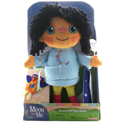 Moon and Me Goodnight Pepi Nana Plush Toy with Song & Phrases