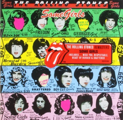 The Rolling Stones-Some Girls (UK IMPORT) CD NEW