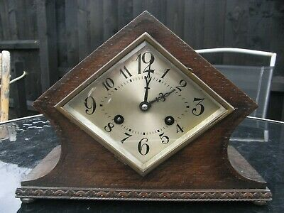 Schatz & Sohne Edwardian Mantle Clock Striking on a Gong