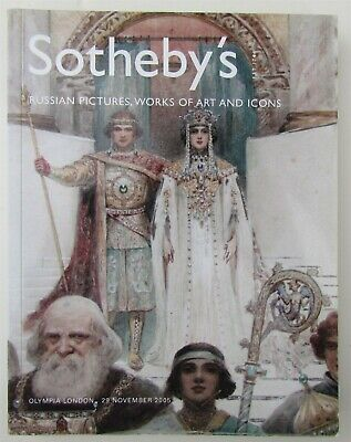 Russian Pictures Art & Icons Sotheby's Auction Catalog 2005 London