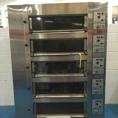 Tom Chandley 10 Tray High Crown Deck Oven - Stock No: Y159745 - Bakery Equipment