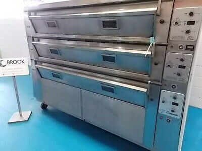 Tom Chandley 24 Tray Deck Oven, Mk4 Control- Stock No B045191 - Bakery Equipment