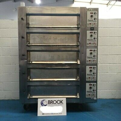 Tom Chandley 10 Tray High Crown Deck Oven - Stock No: 88606 - Bakery Equipment