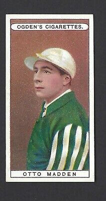 Ogdens - Owners, Racing Colours & Jockeys (Blue) - #39 Otto Madden