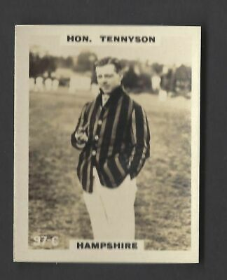 Phillips - Cricketers (Pinnace) - #97C Hon Tennyson, Hampshire