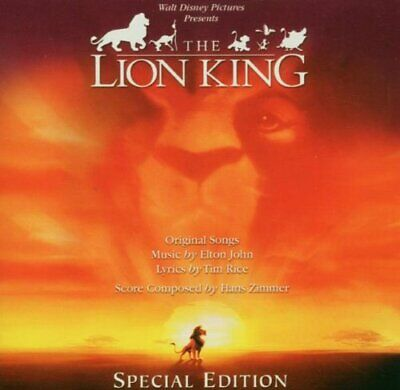 THE LION KING ORIGINAL SOUNDTRACK CD (New Disney Soundtrack Release 2019)