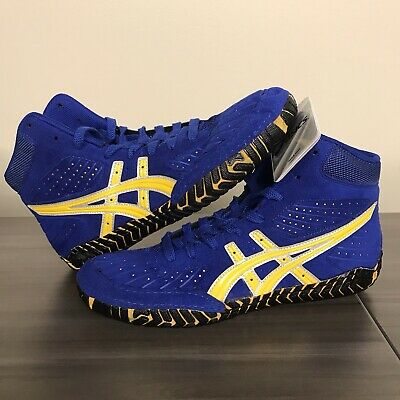 ASICS Aggressor 1 Wrestling Shoes Size 8.5