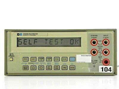 Agilent HP Keysight 3468B Digital Multimeter