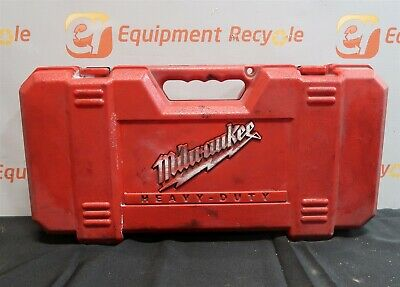 Milwaukee 6536-21 Reciprocating Rebitla Super Sawzall Tools Case