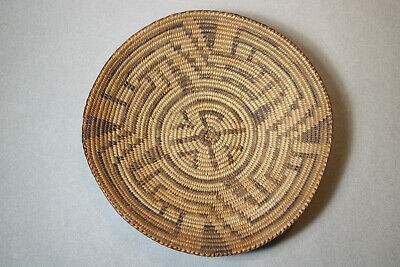 Antique Native American Indian Navajo Pima Basket Fruit Bowl