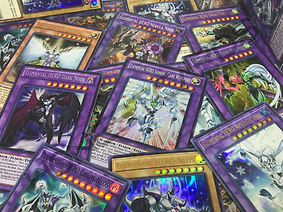 Yugioh! 💎 Premium 💎 Elemental Heroes Collection Lot! All Holographic!