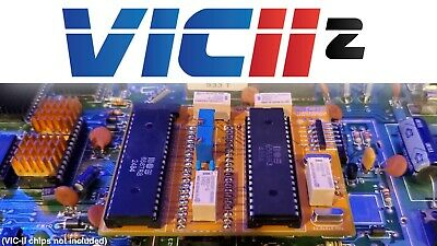 DIP-28 OR DIP-40 Heatsink perfect for Commodore 64 chips