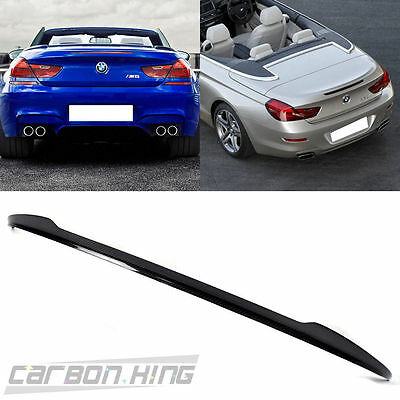 Carbon For BMW F12 Convertible 6-Series V Style Trunk Spoiler 650i