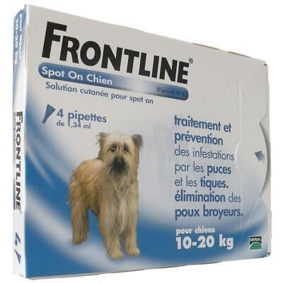 FRONTLINE Spot On chien 10-20kg - 4 pipettes