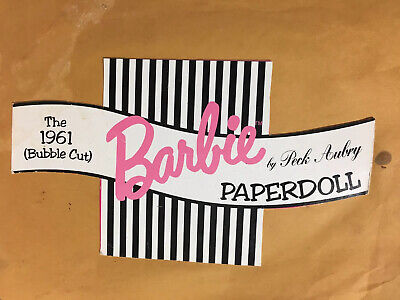 Barbie Paper Doll Cutouts
