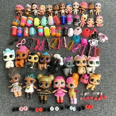 100Pcs Real LOL Surprise Unicorn Punk Boi Boy Queen bee Lil Pet Doll Toy Gifts