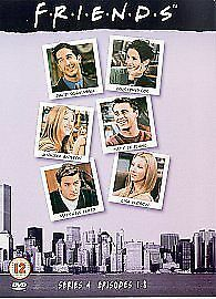 Friends: Complete Season 4 - New Edition [DVD] [1995], Acceptable, DVD, FREE & F