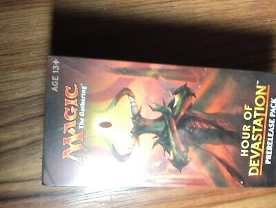 HOUR OF DEVASTATION: MtG - Magic the Gathering Prerelease Box - Sealed Pack Kit
