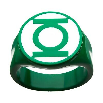 Green Lantern Ring Officially Licensed Stainless Steel Nycc 2019 Exclusive