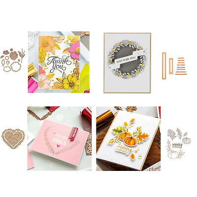 Hot Foil Plate Metal Cutting Dies Stencil For Diy Scrapbooking Paper Cards Craft