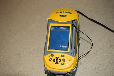 Trimble Geoxt 70950-21 Pocket PC Palmare Dati Collettore W/ Caricabatterie (#12)