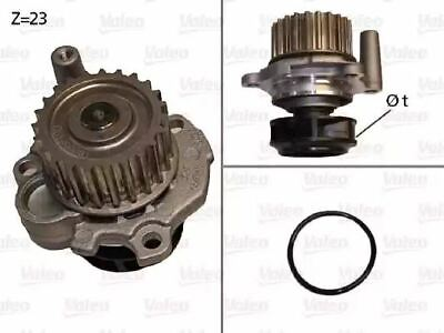 Water Pump 506532 by Valeo Left/Right Genuine OE - Single