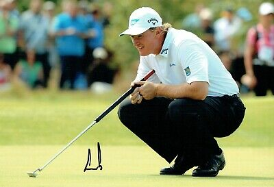 Ernie ELS SIGNED AUTOGRAPH 12x8 Photo AFTAL COA QATAR Masters Winner GOLF