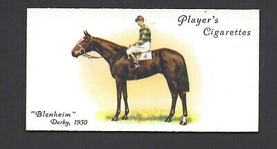 Player - Derby And Grand National Winners - #23 Blenheim