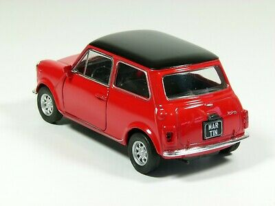 Personalised plate classic Mini Cooper model toy car, boy dad gift 11.5cm