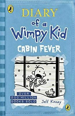 Diary of a Wimpy Kid: Cabin Fever (Book 6), Kinney, Jeff, Very Good, Paperback