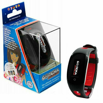 Datel POKÉMON GO Gotcha Evolve Wristband Bracelet iPhone Android Smartphone Red