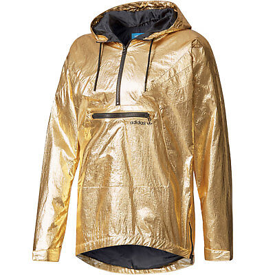 BQ2000] MENS ADIDAS Originals FONTANKA JACKET Gold