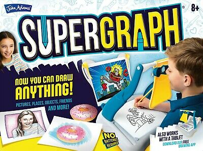 SuperGraph Drawing Art System from John Adams